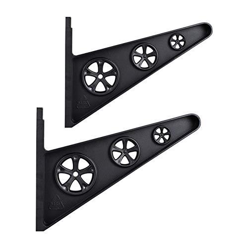 Ganquer Skateboard-Aufhänger GH Strength Horizontal Organisation Display Rack Home Accessories Deck Holder Longboard Storage Tool Durable PP Wandhalterung (A), nicht null, Wie abgebildet, A