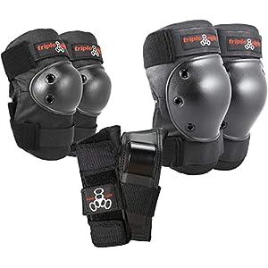 Triple Eight(トリプルエイト) プロテクター Saver Series 3-Pack(肘・膝・手首3点セット)