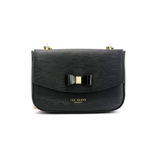 TED BAKER Mini Bow Damen Cross Body Bag Schwarz