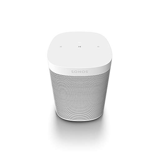 Sonos | One SL Altavoz Inteligente Sin Micrófonos, Multiroom y Streaming WiFi, Control App Sonos Controller, Compatible iOS AirPlay 2, Blanco
