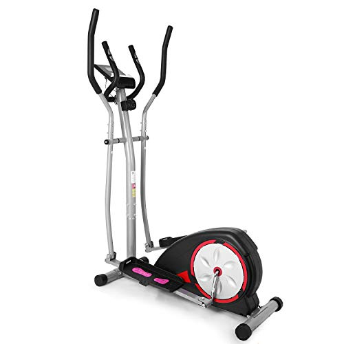 Elliptical Trainer - Magnetic Control Smooth Quiet Elliptical Machine Trainer (Black)