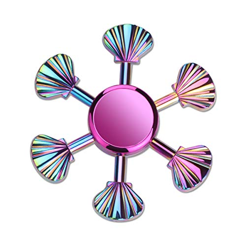 ATESSON Fidget Spinner Toy for Kids Adults 2 to 5 Min Spins Durable Stainless Steel Bearing High Speed Metal Hand Spinner Stress Relief Boredom Killing Time Toys for Boys Girls