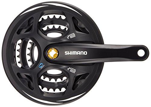 SHIMANO E-FCM311E888CL Bielas, Unisex-Adultos, Negro, 175 mm
