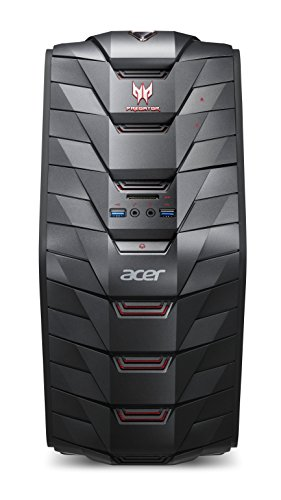 ACER Predator Gaming G3-710 Core i7 6700 12GB 1TB + 8GB SSD HYBRID + 128GB SSD GTX960 2GB Windows 10