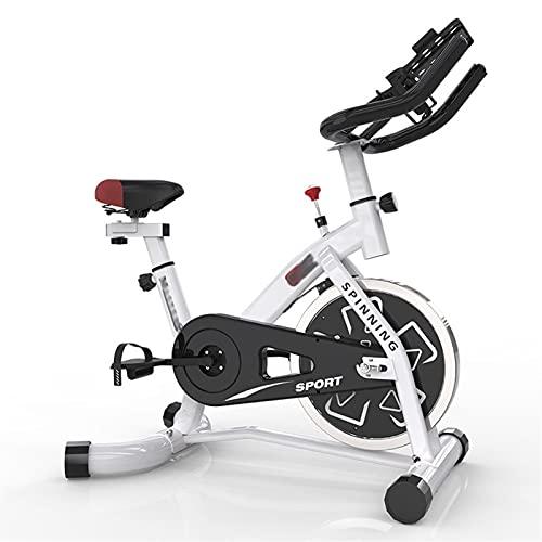 DJDLLZY Bicicleta de spinning, Inicio bicicleta estática, Formación cubierta de bicicletas, Artículos deportivos, dispositivo de entrenamiento de los aeróbicos, puede ajustarse de acuerdo a sus propio