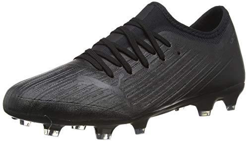 PUMA Ultra 3.1 FG/AG, Chaussure de Football Homme, Schwarz Schwarz Schwarz, 45.5 EU