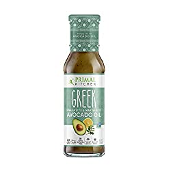 Primal Kitchen - Greek, Avocado Oil-Based Dressing and Marinade, Whole30 and Paleo Approved, Pack of