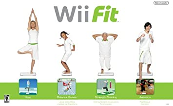$147 » Wii Fit Game with Balance Board