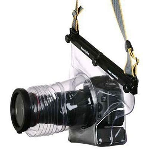 Ewa-Marine U-BZ 100 - Carcasa subacuática para Nikon D300 (hasta 20m, PVC Doble Laminado, Objetivo hasta 300mm), Transparente