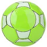 Jeankak Mini Pelota de fútbol, Pelotas de fútbol pequeñas Juegos de Pelota para niños pequeños Pelota de fútbol para niños Pelota de Juguete para bebés con 2 Agujas de Red(Verde)
