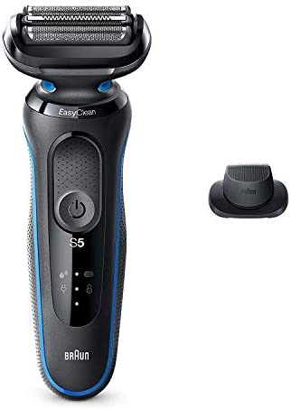 Braun Electric Razor for Men Series 5 5018s Electric Shaver with Precision Trimmer Rechargeable product image