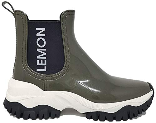Lemon Jelly Jayden Damen-Boots (37, Army Green)