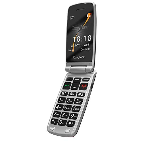 Easyfone 3G Senior Flip Phone