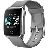 Smartwatch, KUNGIX Orologio Fitness Tracker Uomo Donna, Smart Watches Impermeabile IP68 con...