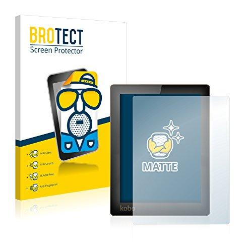 BROTECT 2X Entspiegelungs-Schutzfolie kompatibel mit Kobo Aura Bildschirmschutz-Folie Matt, Anti-Reflex, Anti-Fingerprint
