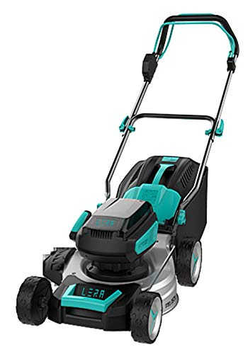 STARTOSTAR 18-Inch 40V Brushless Cordless Lawn Mower Self-Propelled,Operated on 2 2.5Ah Batteries...