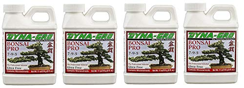 Dyna-GRO BON-008 8 oz Bonsai-Pro Liquid Plant Food, White (4-Pack)