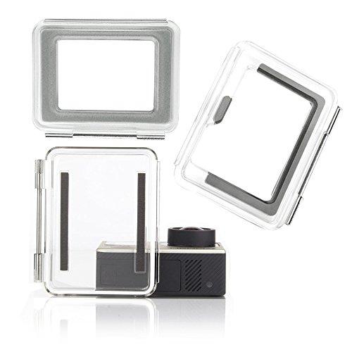 Nechkitter Backdoor Case Cover Kit for GoPro Hero 3+ Hero 4 Standard Housing Case + Skeleton backdoor + Touch LCD Backdoor set