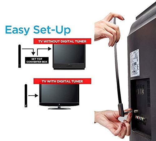 K JINGKELAI Clear TV Digital Indoor Antenna Product Image
