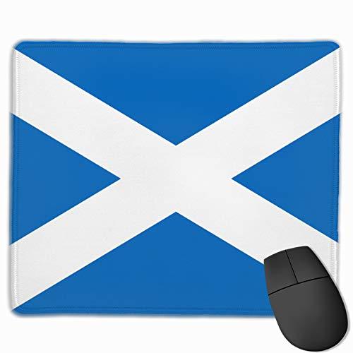 Alfombrilla de ratón para juegos con la bandera de Escocia, antideslizante, alfombrilla de ratón rectangular para ordenadores portátiles