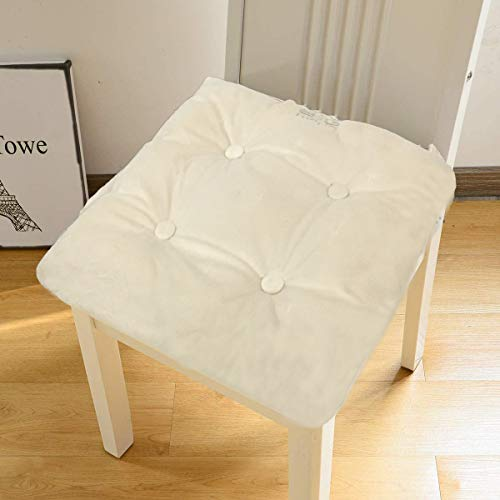 Big Hippo Seat Cushions for Chairs, Kitchen Chair Cushions with Ties, Seat Pads for Dining Chairs,Chair Pads for Home Indoor Outdoor,16'x 16'