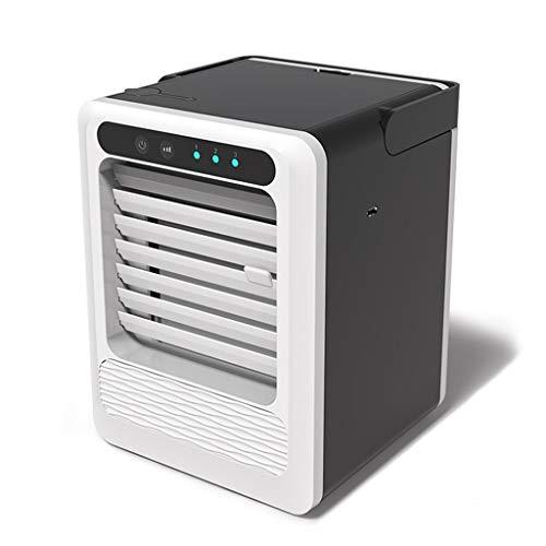 QULONG Acondicionador de Aire portátil, sin Ruido del refrigerador de Aire evaporativo, 3 Speed Gear, para el hogar, Dormitorio habitación, Oficina, Dormitorio, Coche, Tienda de campaña