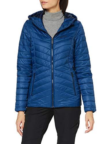 Regatta Voltera Loft Chaqueta acolchada calefactable, tejido ligero y repelente al agua, con aislamiento Baffled/Quilted Jackets, Mujer, Blue Opal, 18