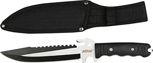 MTech USA Outdoormesser, Nylonfaser Griff, Länge gesamt incm: 30.48, MTEC-1097
