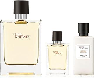 Hermes Terre D'Hermes Gift Set 75ml EDP + 12.5ml EDP + 40ml Aftershave Balm , 2724445531179