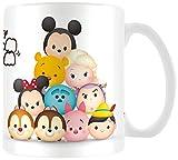 Tsum Tsum 'Personajes Taza de cerámica, Multicolor