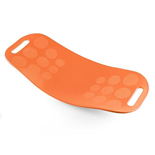 安住商事 エクササイズバランスボード DVD付き ダイエット エクササイズボード ツイストボード オレンジ バ...