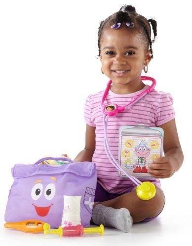 Dora la Exploradora - Maletín médico de Dora, Juguete para bebé (Mattel Y0362)