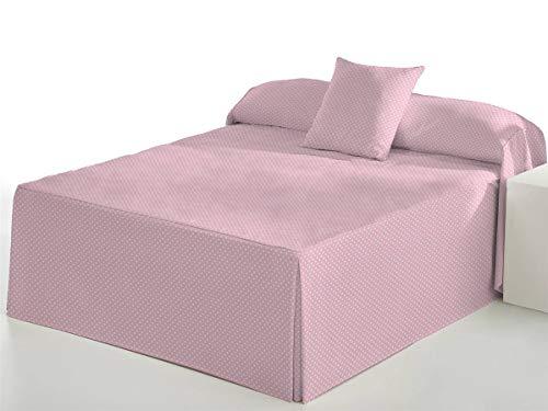 Camatex - Edredón Topo Cama 135 - Color Rosa
