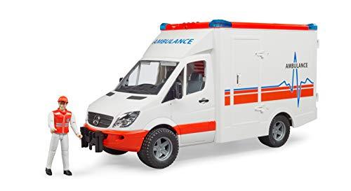 Bruder 02536 - Mercedes Benz Sprinter Ambulanz mit Fahrer