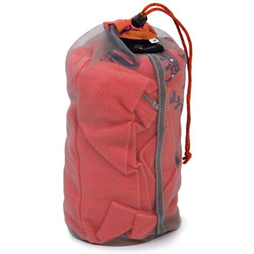 Colcolo Bolsa de Almacenamiento de Sacos de Malla Ultraligera para Tavel Camping Senderismo Al Aire Libre S-XXL - XL