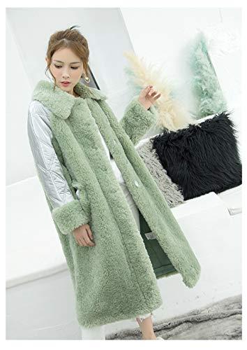 DPKDBN dames donsjack, dames gedrukt scharen, lange warme jassen vrouwen donsjas naaien fluweel lang coa