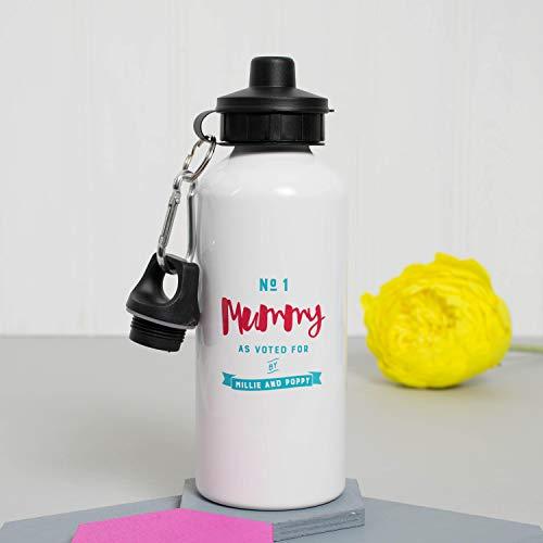 cwb2jcwb2jcwb2j nummer één mama sport liefhebber cadeau voor haar Keep fit dranken fles 600ml