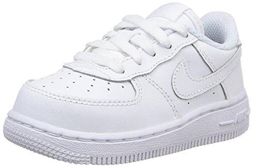 Nike Force 1 (TD), Zapatillas, Blanco (White/White/White 117), 27 EU