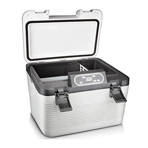 Refrigerador eléctrico del refrigerador del refrigerador del refrigerador del coche de 19L Frigorífico Mini refrigerador para deportes al aire libre Home Tour Viaje