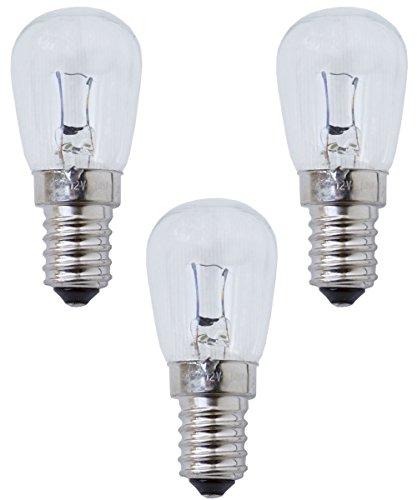 Trousselier Glühbirnen 12 Volt 3 Stück im Set I Ersatzbirnen I Nachtlicht I Birnen I Ersatzleuchtmittel I E 14 | Glühbirne 12 Volt 10 Watt