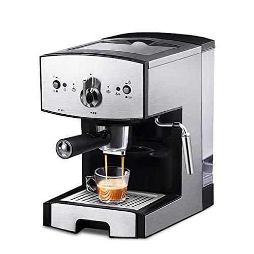 Wlylyhjy Tragbare Espressomaschine, All-in-One Für Kaffeepulver, Nespresso-Kapseln Und Espresso Aufschäumen Von Milch Schaum, Dampfdüse Kapazität 1.5L