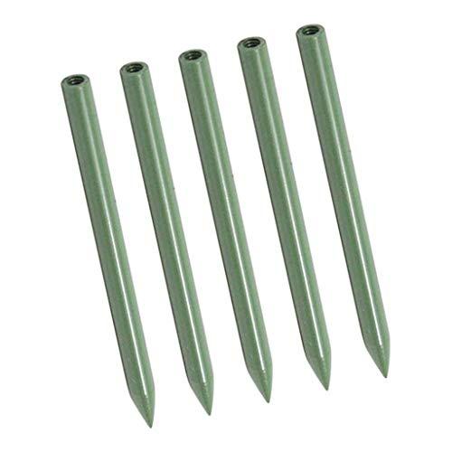 lahomia 5 Piezas de 90 Mm Metal Fids Agujas de Trenzado Ligeras Herramienta de Escalada - Verde, 90x5mm