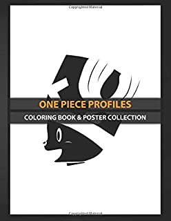 Coloring Book & Poster Collection: One Piece Profiles Tony Tony Chopper Profile Tv Shows