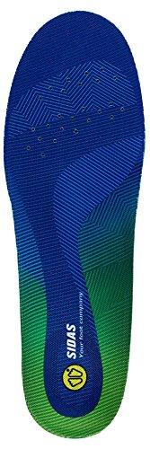 Sidas 3D Comfort Semelle Anatomique Mixte Adulte, Bleu, Taille L/42-43