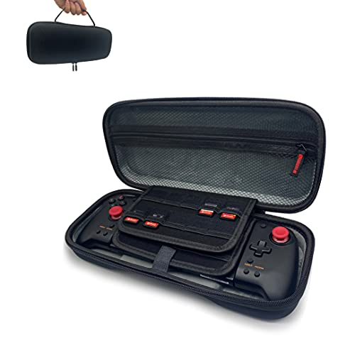 Hori Split Pad Pro Case - iofeiwak Hard Shell Case for Nintendo Switch Split Pad Pro Controller - Support 20 Game Slots / Button Protection/ Large Capacity