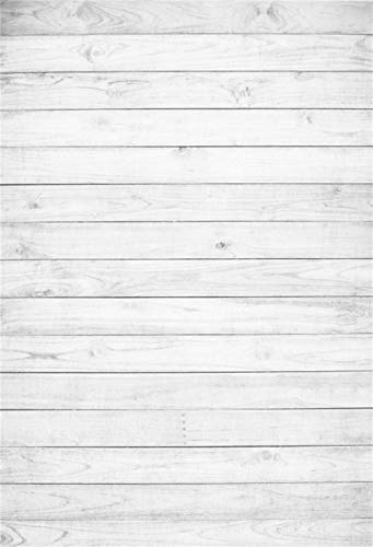 White Daisies and Black Wooden Board Wedding Baby Photography Background Custom Photography Studio Photography Background