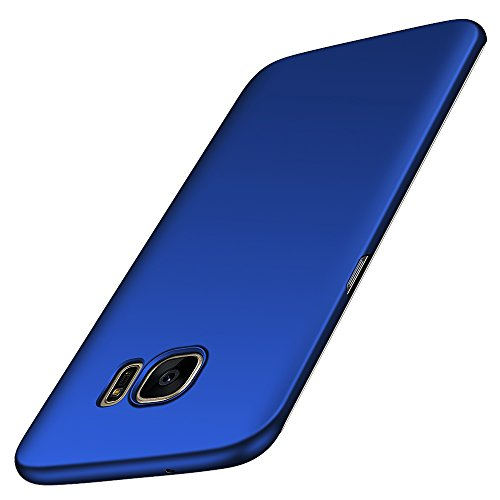 Avalri Cover Galaxy S7 Edge, Minimalista Design Ultra Sottile Case Rigida in PC Antiurto Anti-Graffio Custodia per Samsung Galaxy S7 Edge (Azzurro Liscio)