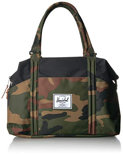 Herschel Strand Shoulder Bag, Woodland Camo/Black, Classic 28.5L