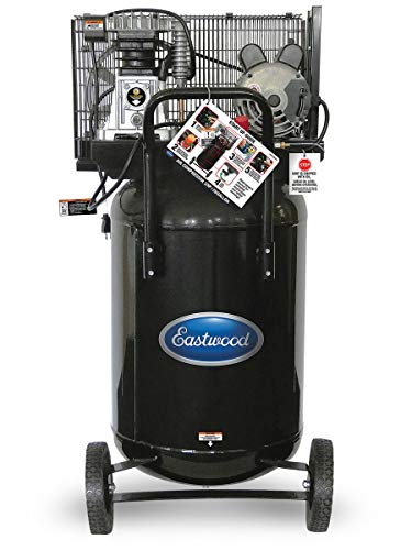 Eastwood 29 Gallon Air Compressor Single Stage Vertical Portable with Wheels
