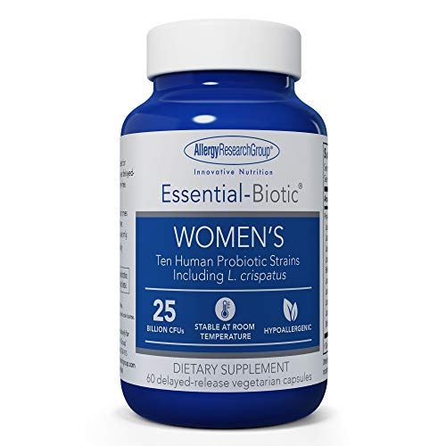Allergy Research Group - Essential-Biotic Womens - GI, Probiotic, 25 Bil - 60 Delayed Release Capsules